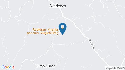 Vuglec Breg Map