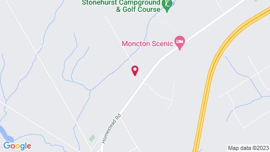 Restwell Motel Moncton Map
