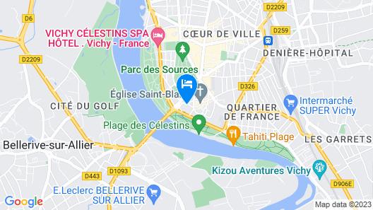 Brit Hôtel De Grignan Map