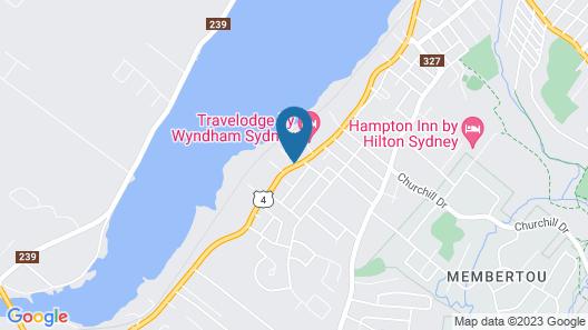 Hearthstone Inn Sydney Map