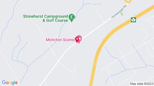 Moncton Scenic Motel Map