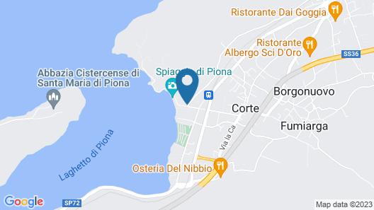 B&B Della Baia Map