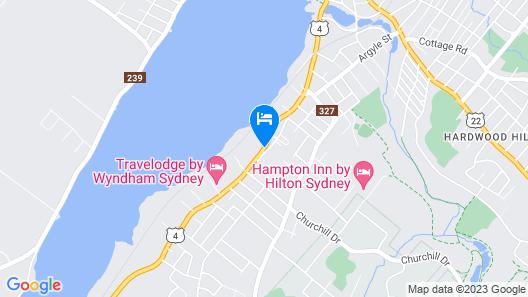 Comfort Inn Sydney Map