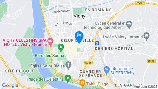 Hotel De Naples Map