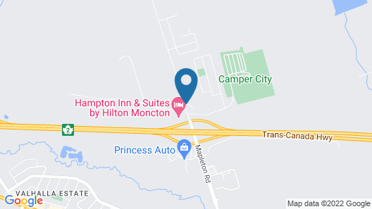 Holiday Inn Express & Suites Moncton, an IHG Hotel Map