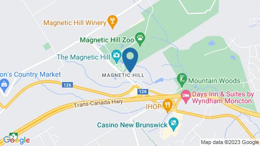 Hotel Moncton Map