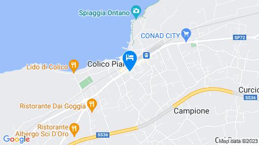 Hotel Lago di Como Map