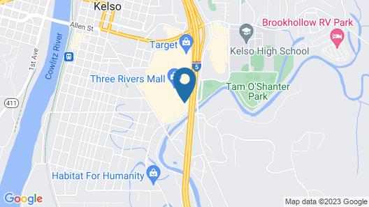Comfort Inn Kelso - Longview Map