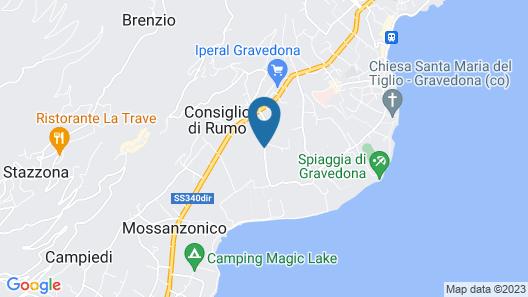 Agriturismo Ca' del Lago Map