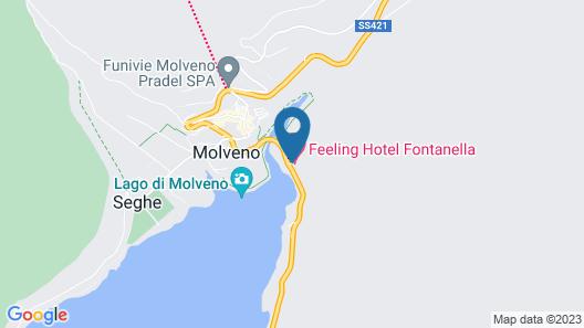 Feeling Hotel Fontanella Map