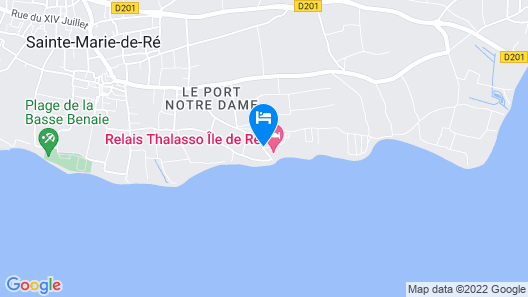 Hôtel Atalante - Relais Thalasso & Spa Map
