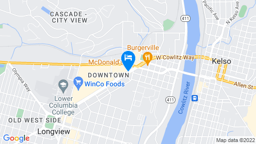 Town House Motel Inc Map