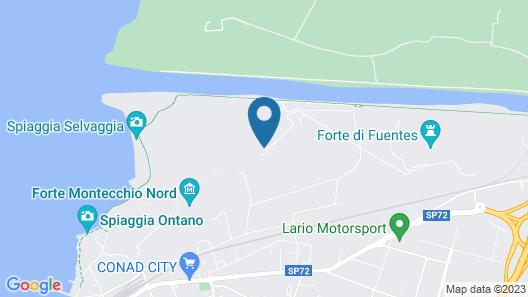 Borgo Erbiola Map