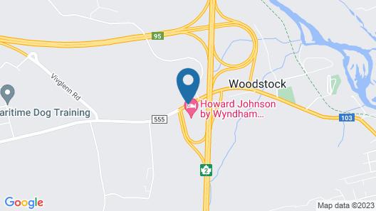 Howard Johnson by Wyndham Woodstock NB Map
