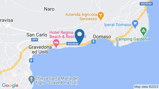 Hotel Domaso Map