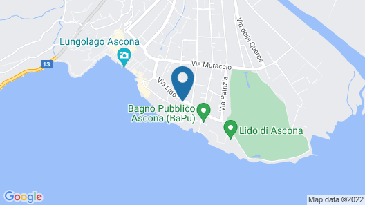 Albergo Mirador Map