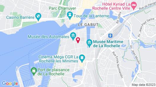 Lagrange Apart'HOTEL L'Escale Marine Map