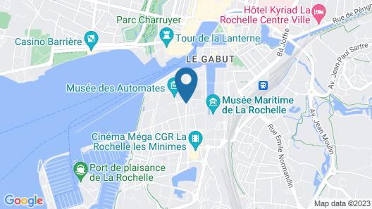 Lagrange Apart'HOTEL - L'Escale Marine Map