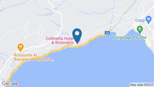 Hotel Collinetta Map