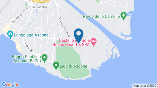 Hapimag Resort Ascona Map