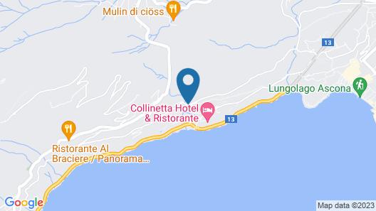 Casa Berno Swiss Quality Hotel Map
