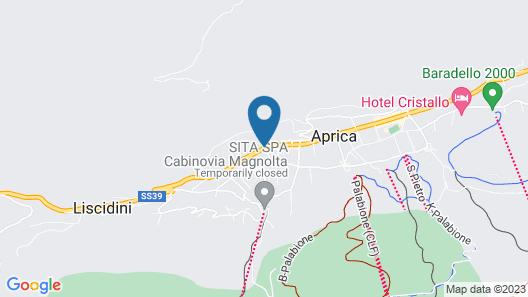 Residence Stella Alpina Map