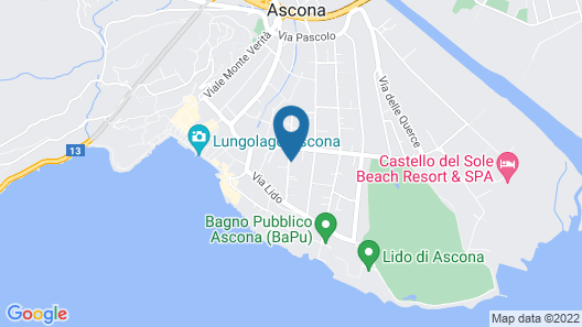 Apartment Corallo in Ascona - 4 Persons, 1 Bedrooms Map