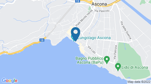 Hotel Tamaro Map