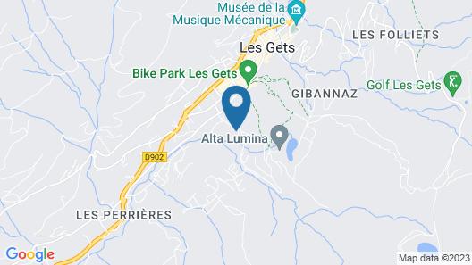 Chalet-Hôtel Le Labrador, The Originals Relais (Relais du Silence) Map
