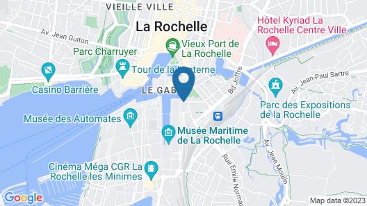 Mercure La Rochelle Vieux Port Sud Hotel Map