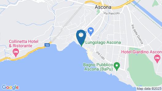 Piazza Ascona Hotel & Restaurants Map