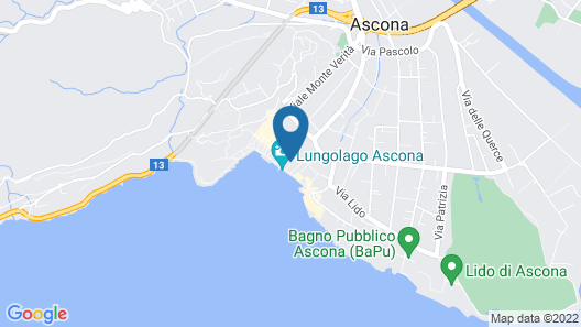 Olive Boutique Hotel Map