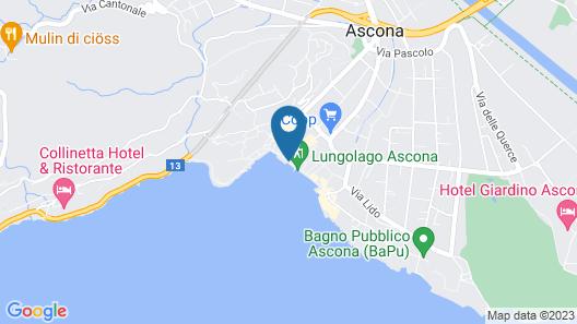 Albergo Carcani Map