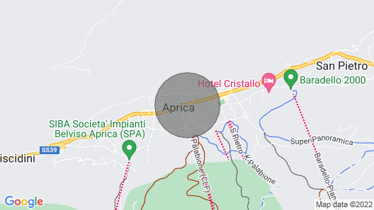 Apartment in Aprica for Tourist Stays Map