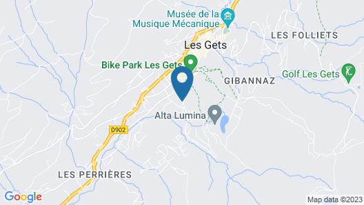 Hôtel Alpina Map