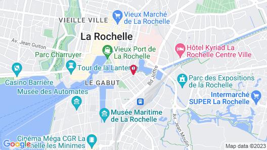 Pierre & Vacances La Rochelle Résidence Centre Map