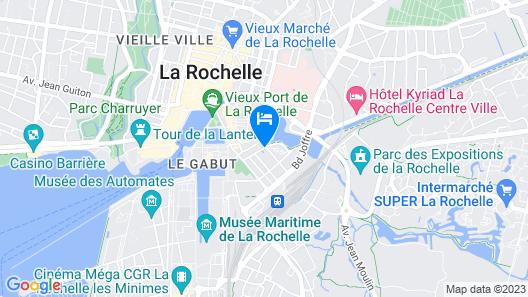 Pierre & Vacances Résidence Centre Map