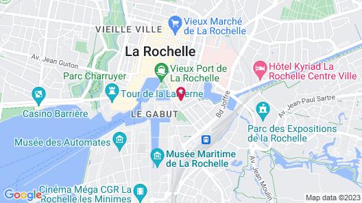 ibis La Rochelle Vieux-Port Map