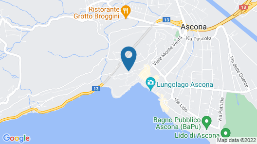 Apartment Suite Classic in Ascona - 4 Persons, 1 Bedrooms Map