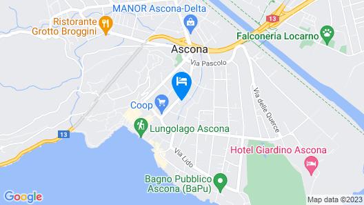 Hotel Luna Garni Map