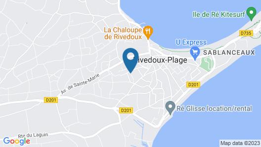 Résidence Odalys Rêve d'lle Map