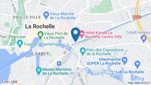 Appart'City La Rochelle Map