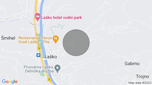 Apartment in Laško Near Castle Map