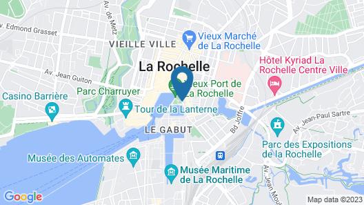 Hotel Le Yatchman Map