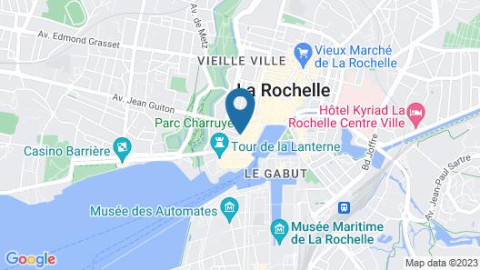 Hôtel Atlantic Map