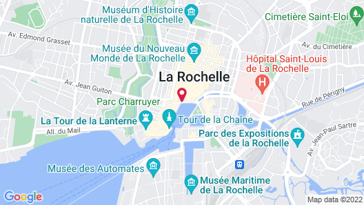 Hôtel La Marine Map