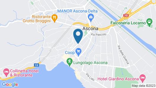 Appartcasa Tosca Map