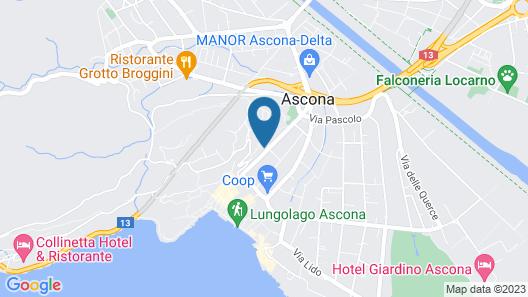 Jazz Hotel Ascona Map