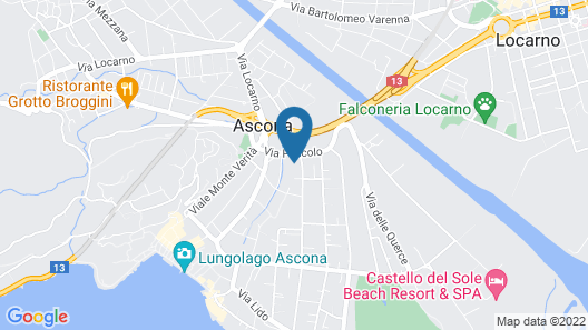Apartment Sabrina in Ascona - 6 Persons, 2 Bedrooms Map