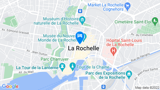 Urban Style Hotel François 1er Map